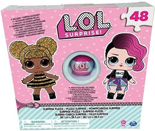 Spin Master 6044936 - Puzle LOL 48 Piezas con Accesorio: Amazon.es: Juguetes y juegos
