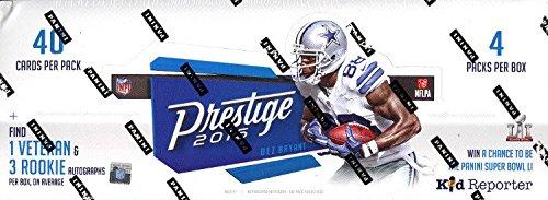 2016 Panini Prestige NFL Football HOBBY box (4 pk)