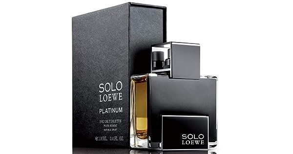 f328723ff Solo Loewe Platinum Pour Homme 100ml - Eau de Toilette,for Men: Amazon.ae:  farahsfunfair