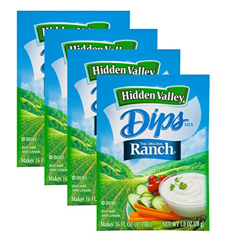ingredients for hidden valley ranch dressing mix - 2