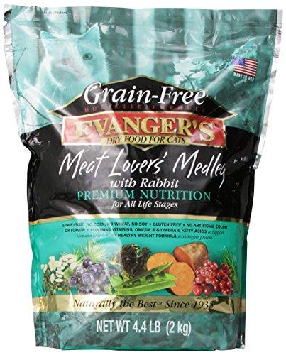Evanger'S 776604 Grain Free Meat Lover'S Medley With Rabbit