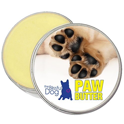 The Blissful Dog Paw Butter for Your Dog's Rough and Dry Paws, 2-Ounce ()