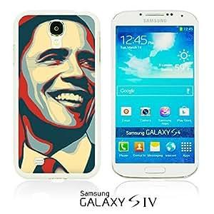 OnlineBestDigital - Art Paintings Hardback Case for Samsung Galaxy S4 IV I9500 / I9505 - American President Barack Obama