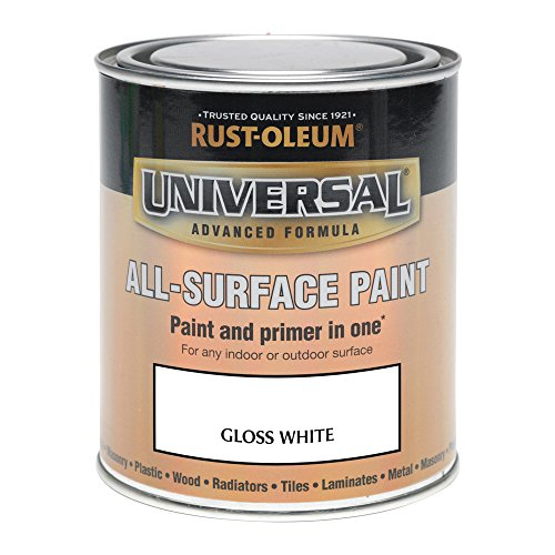 Rust-Oleum 250ml Universal Paint - Gloss White