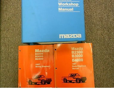 1997 Mazda B Series Truck B2300 3000 4000 Service Repair Shop Manual Set Books Service Manual The Electrical Wiring Diagram Manual And The Body Electrical Troubleshooting Manual Mazda Amazon Com Books