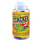 Stacker 2 Fat Burner Capsules, Ephedra Free, 100-Count Bottle
