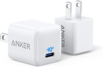 2-Pack Anker 18W PowerPort III Nano USB C Wall Charger