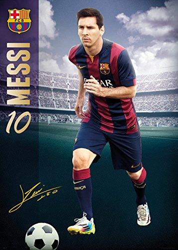 GB Eye Ltd, Barcelona, Messi 14/15, Poster Gigante, 100 x 140 cm ...