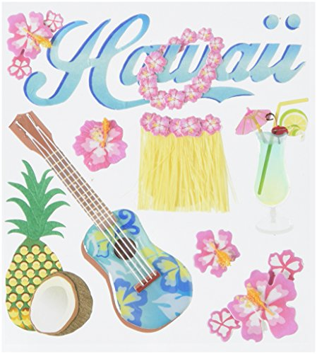 - JOLEES Boutique Dimensional Stickers-Hawaii