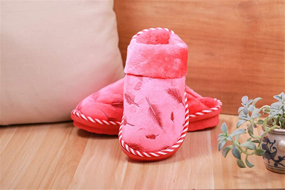 Washable Flat Indoor//Outdoor Slip on Shoes BeautyOriginal Womens Cotton House Slippers
