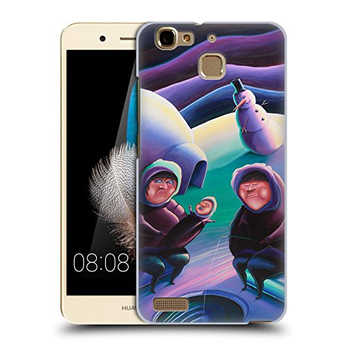 Official Rock Demarco The Snow Blower Illustrations 2 Hard Back Case for Huawei Enjoy 5S / GR3 (2015)