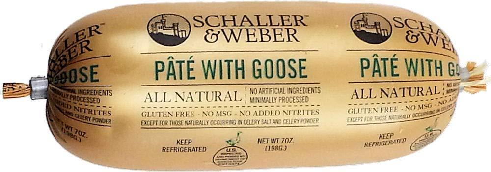 Schaller & Weber, Pate with Goose (6 pack)