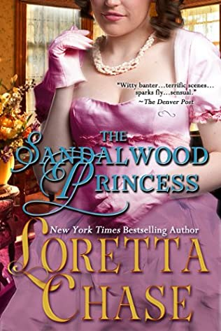 book cover of The Sandalwood Princess