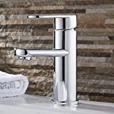 LDONGSH Full Copper Basin Hot And Cold Copper Chrome Home Hotel European Faucet Tap