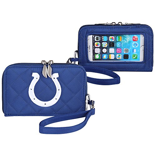 Indianapolis Colts New Stadium - Charm14 Indianapolis Colts Quilted Cell Phone Wallet