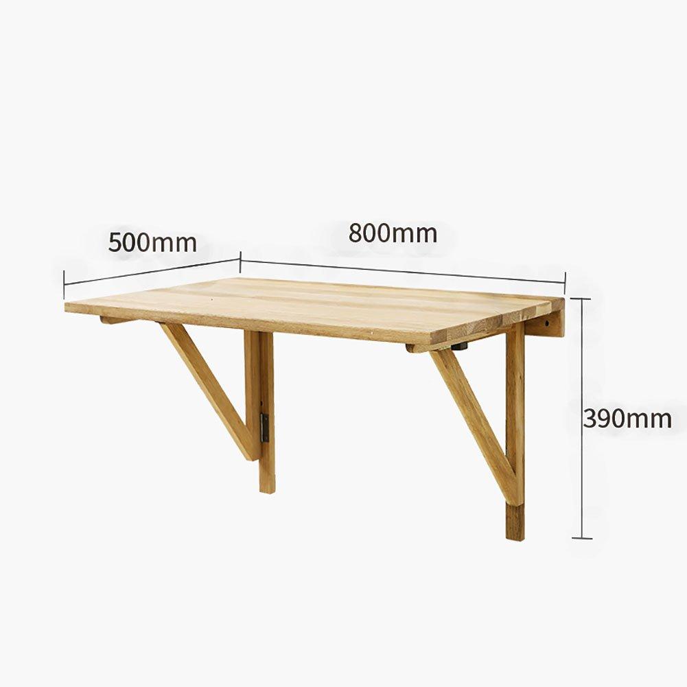 Amazon.de: Klapptisch HYDT MDF Log Farbe Wand Drop-Blatt Tisch Wand ...