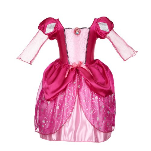 Little Mermaid Costume Pink Dress (Disney Princess Ariel Pink Bling Ball Dress)