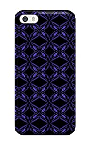 Fashion Protective Pretty Blue Violet Pattern Case Cover For Iphone 6 4.7