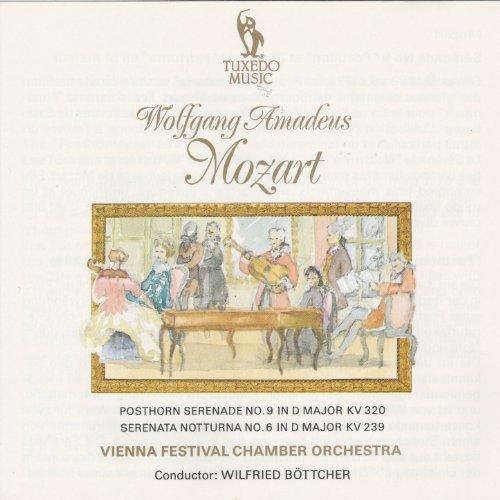 Mozart: Posthorn Serenade No. 9 in D Major, K 320 & Serenata Notturna No. 6 in D Major, K. 239