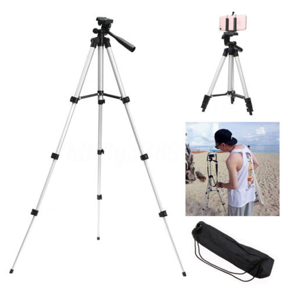 上品な カメラ三脚 B07QBZ52XL 携帯電話 望遠鏡 望遠鏡 一脚 スタンド カメラ三脚 ホルダー マウント 柔軟 高さ調節可能 折りたたみレベル カメラ 伸縮スタンド 軽量 + Uクリップ 360°水平 90°垂直回転 シルバー(Silver) B07QBZ52XL, エアコンマート神奈川店:bd3c928f --- martinemoeykens.com