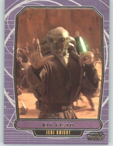 2012 Star Wars Galactic Files #58 Kit Fisto (Non-Sport Collectible Trading Cards) from Star Wars