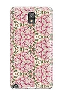 New HHpzgkF6466HJocV Pretty Fabric Pattern Tpu Cover Case For Galaxy Note 3