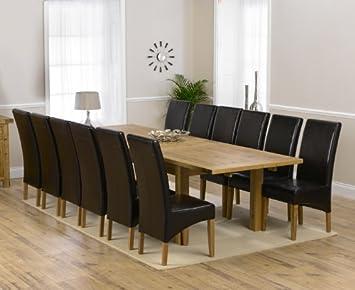 Extensible Table Salle Une Table à à Corona chêne de Manger wZPXuOkiTl