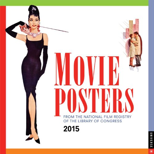 Movie Posters 2015 Wall Calendar: From the National Film Registry of the Library of Congress (2015 Wall National Calendar)