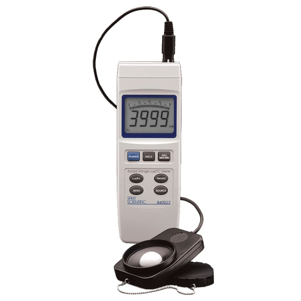 Sper Scientific 840022 Advanced Light Meter