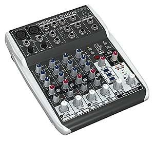 behringer qx602mp3 mesa de mezclas mp3 player amazon