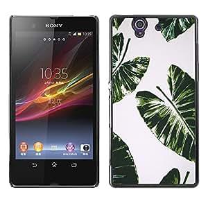 Dragon Case - FOR Sony Xperia Z L36H - full of arts - Caja protectora de pl??stico duro de la cubierta Dise?¡Ào Slim Fit