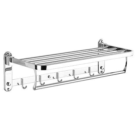 SX1560 Toallero de baño montado en la Pared de Acero ...