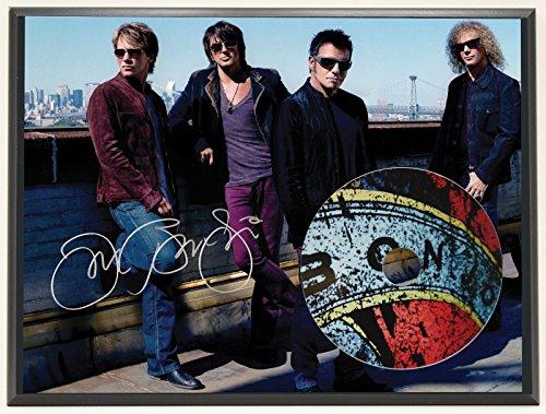 JON BON JOVI LTD EDITION SIGNATURE SERIES PICTURE CD DISPLAY GIFT -