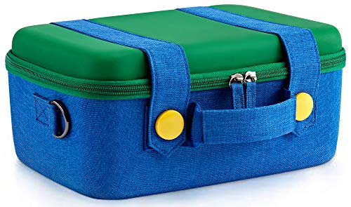 - Funlab Travel Carrying Case Compatible with Nintendo Switch System,Cute and Deluxe,Protective Hard Shell Carry Bag for Nintendo Switch Console & Accessories(Green)