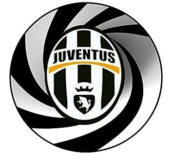 cialda scudetto juventus in ostia per torte calcio decorazioni ... - Decorazioni Torte Juventus