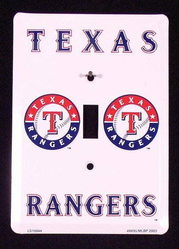 Texas Rangers Light Switch Covers (single) Plates LS10044