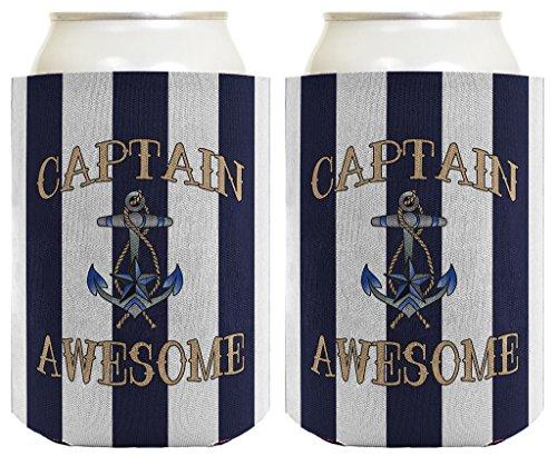 Captain Awesome Nautical Sailing Boating
