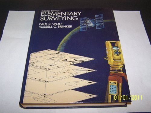 Elementary Surveying 8th Edition by Brinker, Russell C.; Wolf, Paul R. published by Longman Higher Education Hardcover