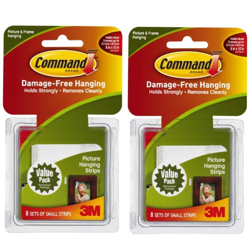 Command Picture Hanging Interlocking Fasteners