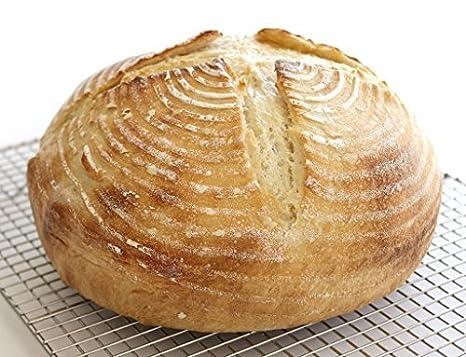 10 inch Banneton ratán cesta fermentación pasta a Pan Redonda de ...