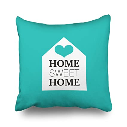 Amazon Pakaku Throw Pillows Covers For CouchBed 40 X 40 Inch Cool Tiffany Blue Decorative Pillows