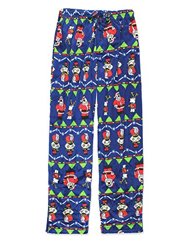 Briefly Stated Men's Family Guy Christmas Lounge Pants, Blue, -