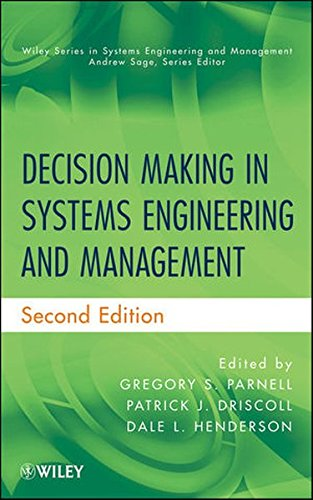 Decision Making In Systems Engin.+Mgmt.