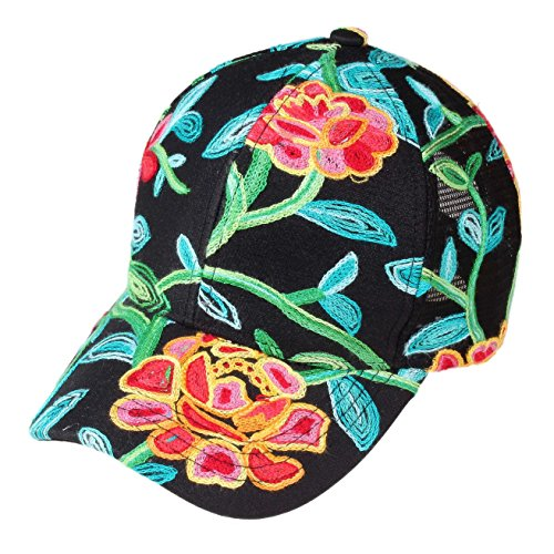 Picture of Womens Floral Embroidered