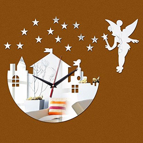 Constructan(TM) New Hot Sale Clock Wall Clocks Reloj De Pared Horloge Stickers Quartz