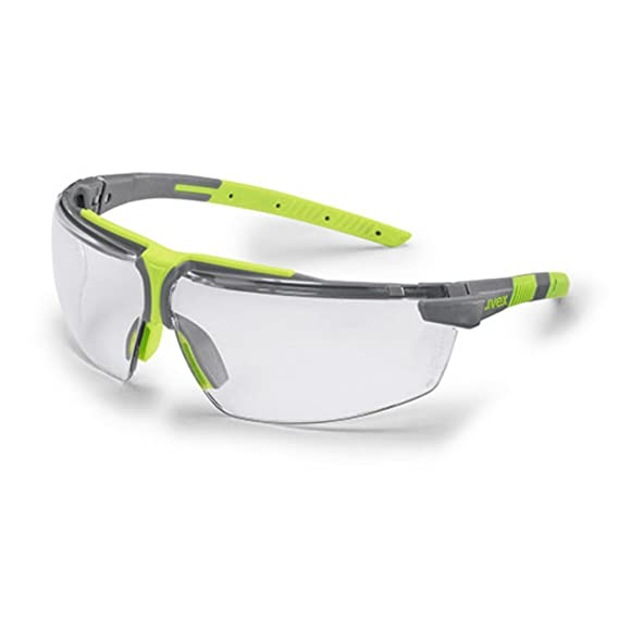 98f5886a75 Prescription Safety Glasses +1 or +2. Uvex i-3 Eye Protection (Lime ...