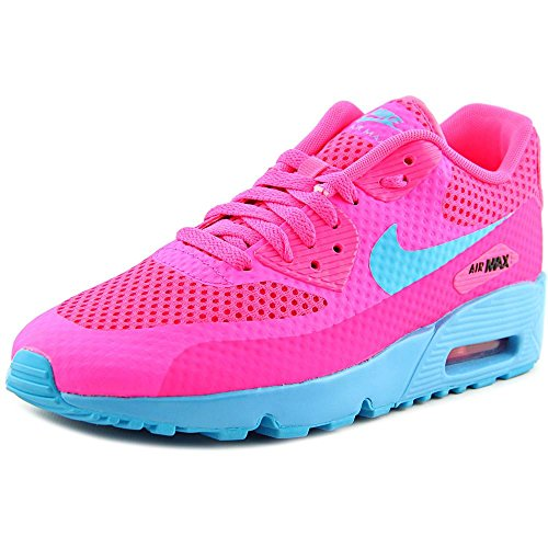 Nike Air Max 90 Br (GS) Youth US 6.5 Pink Walking Shoe by NIKE