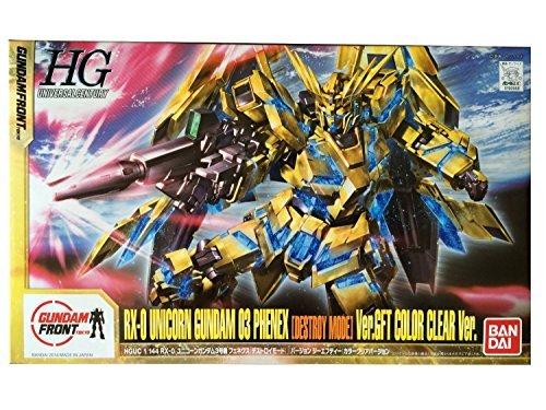Japan Import Gundam Front Tokyo Limited Rx-0 Unicorn Gundam 03 Phenex Destroy Mode Ver.gft Color Clear Ver.