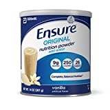 Ensure Original Nutrition Powder Vanilla. Pack of 6 x 14 Oz/Can