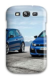 Defender Case With Nice Appearance (volkswagen Scirocco 18) For Galaxy S3